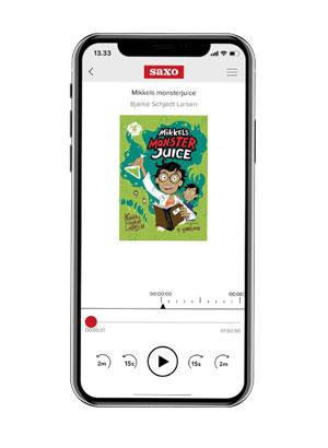 Lyt til 'Mikkels monsterjuice' med Saxo Premium