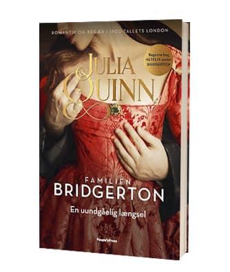 Bogen 'Familien Bridgerton. En uundgåelig længsel' af Julia Quinn