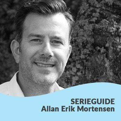 Serieguide til Allan Erik Mortensens bøger