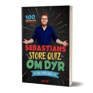 'Sebastians store quiz om dyr' bog af Sebastian Klein
