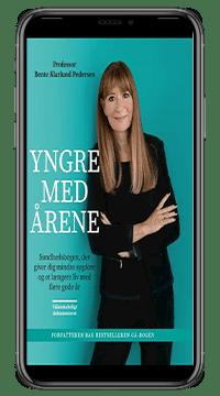 Bogen 'Yngre med årene' af Bente Klarlund Pedersen