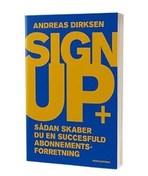 Bogen 'Sign up'