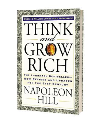 Giv 'Think and grow rich' af Napoleon Hill i julegave