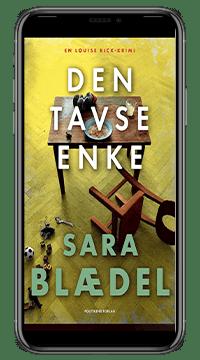 E-bogen 'Den tavse enke' af Sara Blædel
