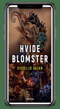 Bogen 'Hvide blomster' af Sissel-Jo Gazan