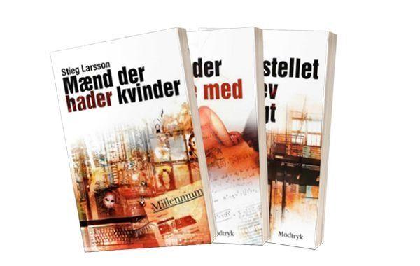 Bøger af Stieg Larsson