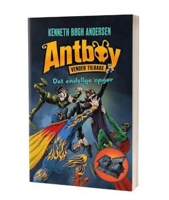 'Antboy vender tilbage 3 - Det endelige opgør' af Kenneth Bøgh Andersen - 9. bog i serien