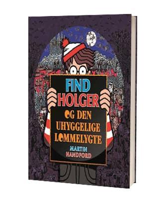Martin Handfords 'Find Holger og den uhyggelige lommelygte'