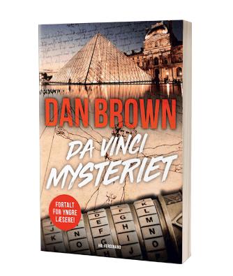 'Da Vinci Mysteriet' af Dan Brown