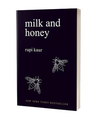Giv 'Milk and honey' af Rupi Kaur i julegave