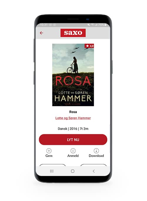 'Rosa' af Lotte og Søren Hammer som lydbog