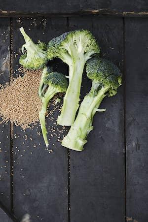 Broccoli og sennep