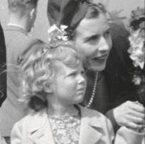 Dronning Margrethe fra bogen 'Barn af besættelsen'