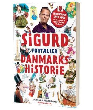 'Sigurd fortæller Danmarks historie' af Sigurd Barret
