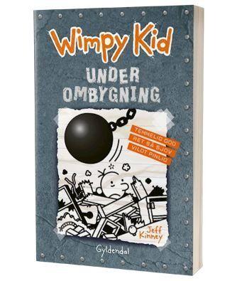 'Wimpy Kid - Under ombygning' af Jeff Kinney