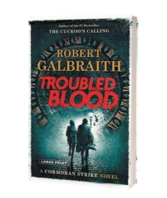 Giv 'Troubled Blood' af Robert Galbraith i julegave