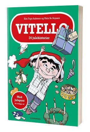 'Vitello 24 julehistorier' af Kim Fupz Aakeson