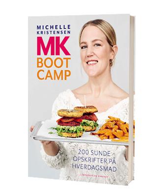 'MK Bootcamp – 200 opskrifter' af Michelle Kristensen