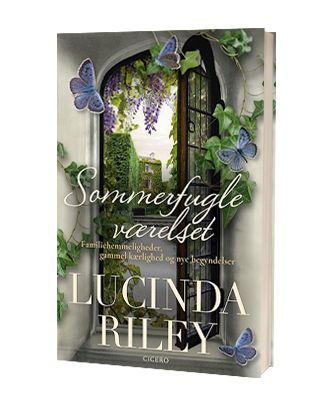 Bogen 'Sommerfugleværelset' af Lucinda Riley