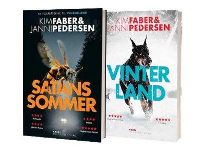 'Satans sommer' og 'Vinterland' af Janni Pedersen og Kim Faber