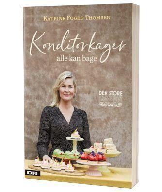'Konditorkager - alle kan bage' af Katrine Foged Thomsen