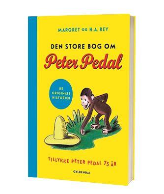 'Den store bog om Peter Pedal' af Magret og H.A. Rey