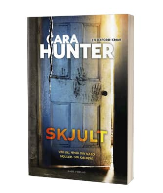 'Skjult' af Cara Hunter - 2. bog i serien