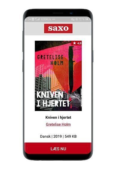 'Kniven i hjertet' ebog af Gretelise Holm