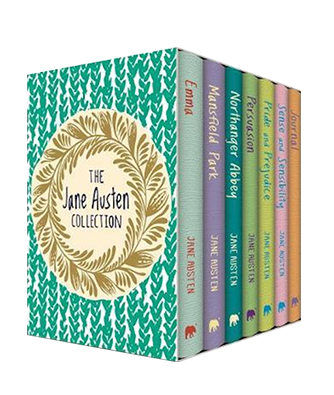 Bogen 'The Jane Austen Collection - Six Book Boxset plus Journal' af Jane Austen