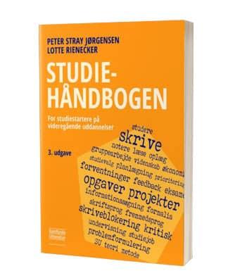 Bliv studieklar med 'Studiehåndbogen'