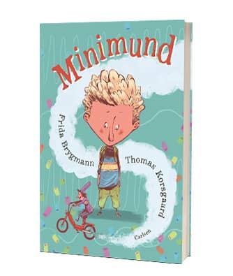 Den populære børnebog 'Minimund' af Frida Brygmann og Thmoas Korsgaard