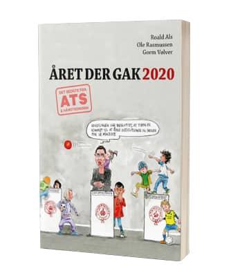 Giv 'Året der gak 2020' af Roal Als, Ole Rasmussen og Gorm Vølver i julegave