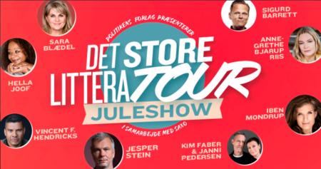 Det store LitteraTOUR Juleshow 2020