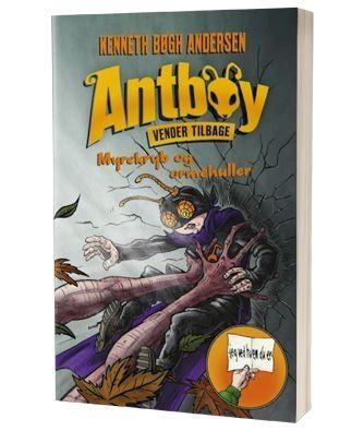 'Antboy - Myrekryb og ormehuller' af Kenneth Bøgh Andersen