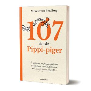 '107 danske pippi-piger' af Merete Van den berg