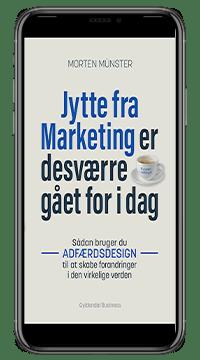 Bogen 'Jytte fra marketing er desværre gået for i dag'