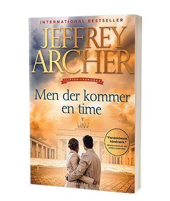 Bogen 'Men der kommer en time' af Jeffrey Archer