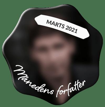 Se, hvem der er månedens forfatter hos Saxo i marts 2021