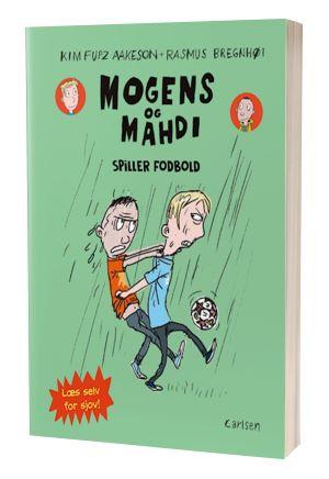 'Mogens og Mahdi spiller fodbold' af Kim Fupz Aakeson