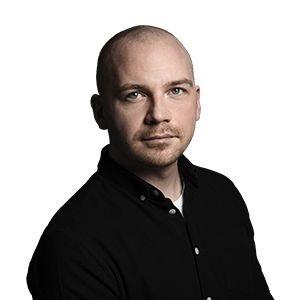 Morten Pape som månedens forfatter