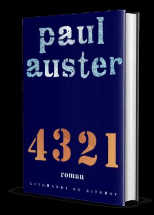 '4 3 2 1' af Paul Auster