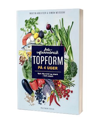Bogen 'Anti-inflammatorisk topform på 4 uger'