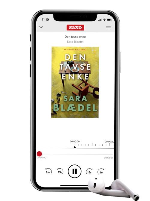 Download Saxos app, og få adgang til tusindvis af e- og lydbøger