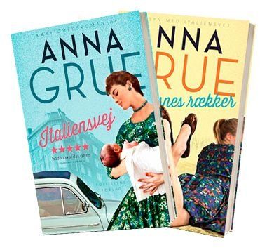 Vittoria-serien af Anna Grue