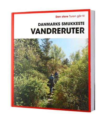 'Den store turen går til Danmarks smukkeste vandreruter' Coffee table-bog