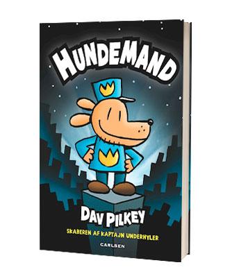 'Hundemand' af Dav Pilkey - finde alle Hundemand-bøgerne hos Saxo