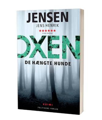 'De hængte hunde' af Jens Henrik Jensen - 1. bog i Oxen-serien
