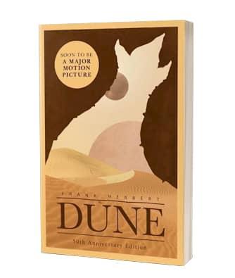 'Dune' af Frank Herbert på engelsk 2020-udgave