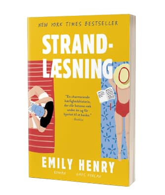 'Strandlæsning' af Emily Henry - strandlæsning
