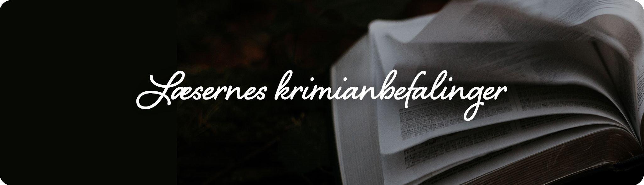 Læsernes krimianbefalinger